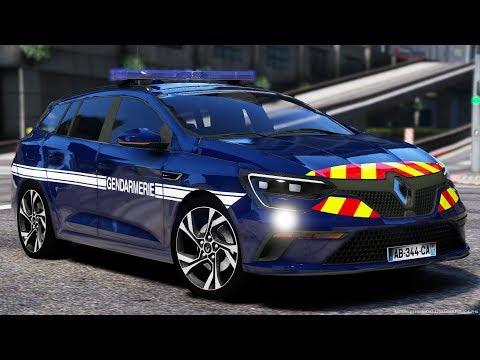 [GTA-LSPDFR] Renault Megane IV Estate   Gendarmerie Nationale #81