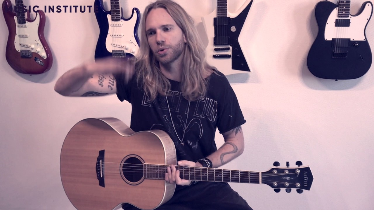 Lær at spille guitar 8/10 - Lær at spille rytmer på guitar