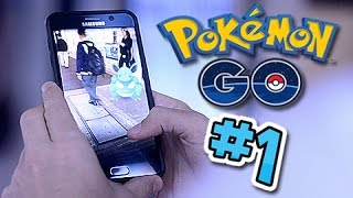 Let's Play Pokemon GO!! Part 1