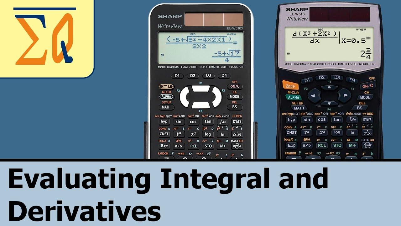 sharp elw 516x el w506x el w516xbsl evaluating integral and rh youtube com Parts for Sharp Calculator EL 1197 III Scientific Calculator Sharp EL 531