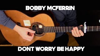 Kelly Valleau - Don't Worry, Be Happy (Bobby McFerrin) - Fingerstyle Guitar