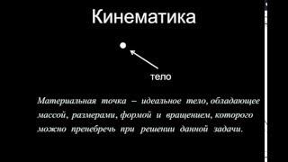 Кинематика - Теория