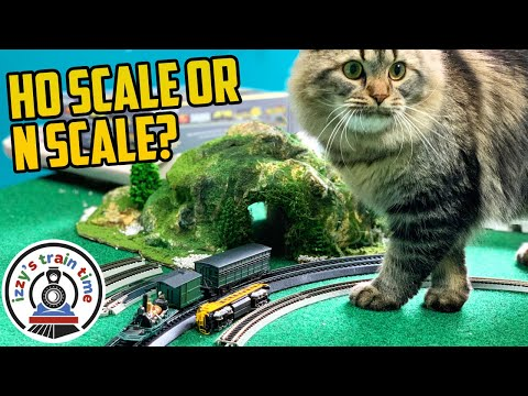 Model Trains: HO Scale or N Scale? Progressing from Toy Trains and Thomas?!