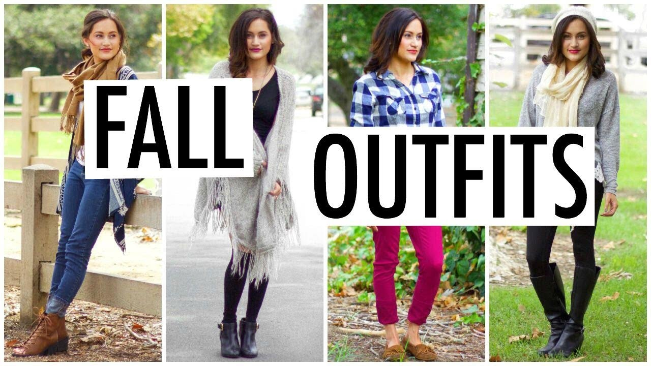 Cute Cozy Fall Outfit Ideas 2015 Youtube