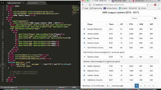 HTML Tables Tutorial: Bootstrap-Table (Part 2/3)