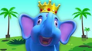 Hathi Raja Kahan Chale | हाथी राजा कहाँ चले | Kids Channel India | Hindi Rhymes | Bal Geet In Hindi