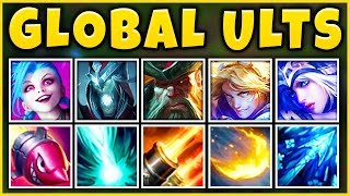 GLOBAL ULTS TEAM 2019 (INSTANT GLOBAL PENTA) MOST BROKEN TEAM EVER - League of Legends