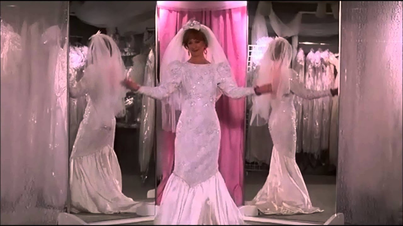 The Wedding Singer Wedding Dress Montage