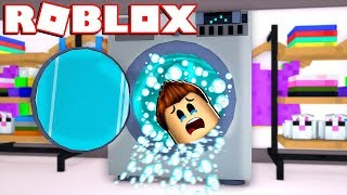 MY SUBSCRIBERS FIND ME IN A WASHER!! - Roblox