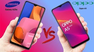 Samsung Galaxy A20s VS Oppo A5 (2020) - Which is Better!!