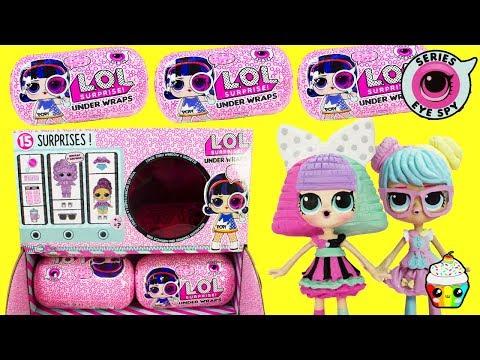 LOL Surprise Underwraps Big Sisters Spy Hunt Cupcake Kids Club