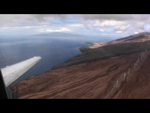 Welcome To Maui!!!  Fantastic HD Boeing 717 Landing At Kahului Airport!!!