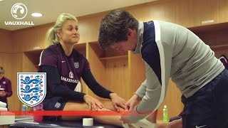 A day in the England Women