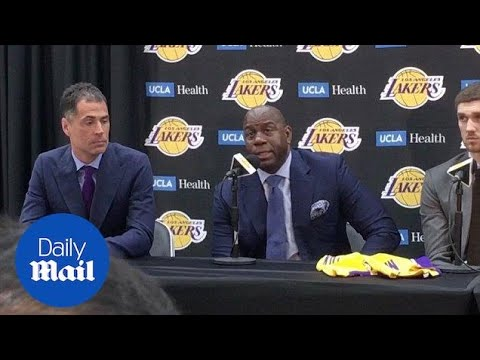 Magic Johnson Talks About Pressure To Sign Free Agent Stars