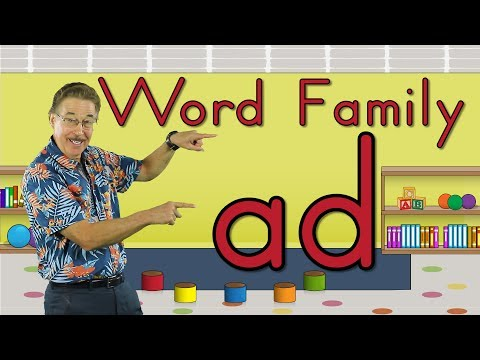 Word Family -ad | Phonics Song for Kids | Jack Hartmann