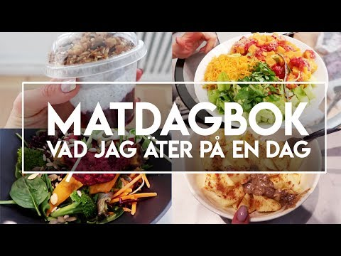 MATDAGBOK ☆ What I eat in a day (vegan)