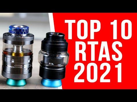 TOP 10 BEST RTA TANKS FOR 2021 - VAPING INSIDER