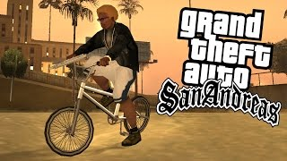 "NAWET NIE DOBIEGŁEM DO METY W GTA SAN ANDREAS SINGLEPLAYER ""TRIATHLON + BMX"" #67 [PL/HD]"