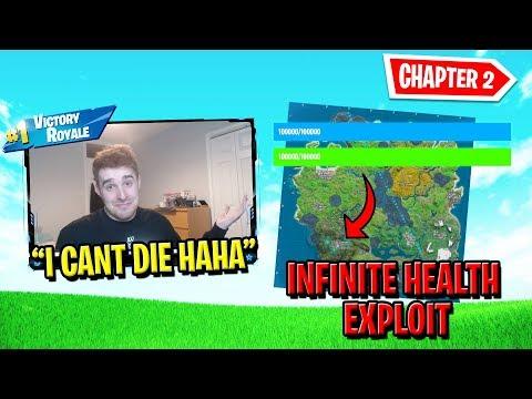 INFINITE HEALTH GLITCH In Fortnite Chapter 2 thumbnail