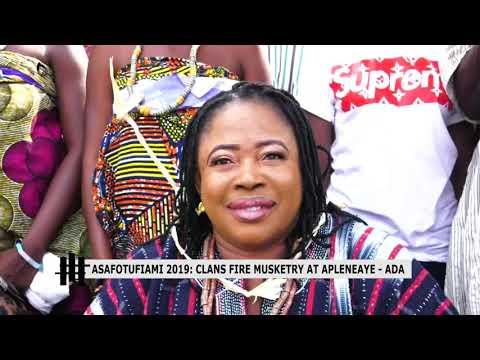OMANYE ABA: ASAFOTUFIAMI 2019 CLANS FIRE MUSKETRY AT APLENEAYE  ADA