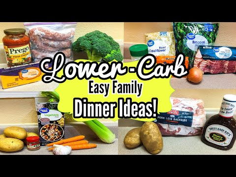 4 Low Carb Recipes! | What's For Dinner? | Julia Pacheco