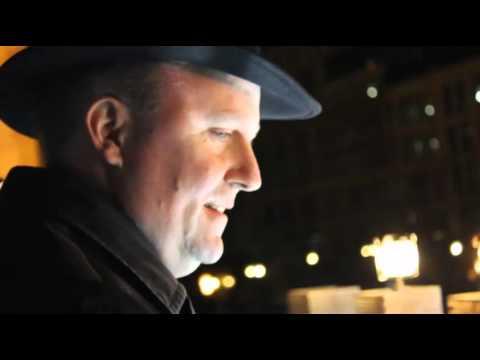 Public Menorah lighting - Frankfurt 5776