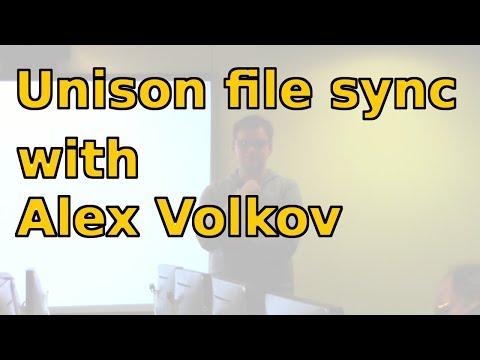 Unison file sync with Alex Volkov
