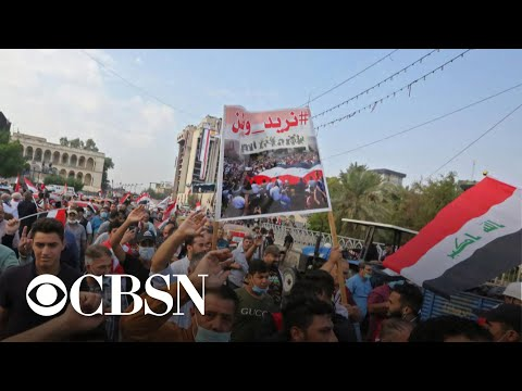 Deadly protests escalate in Iraq as rallies focus on leaders, Iran