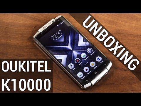 Oukitel К10000 распаковка гиганта с банкой на 10000 мАч! UNBOXING Oukitel К10000 от FERUMM.COM