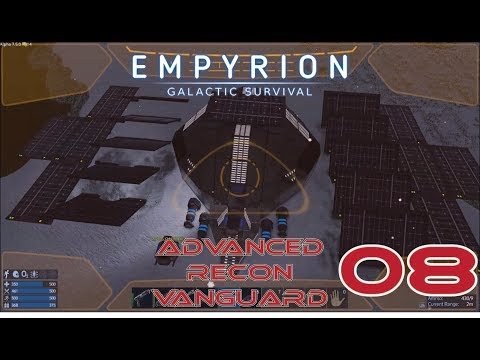 Harvest S.O.V. and SOLAR PANNELS!!!- [5X08] - Empyrion: Galactic Survival Let's Play