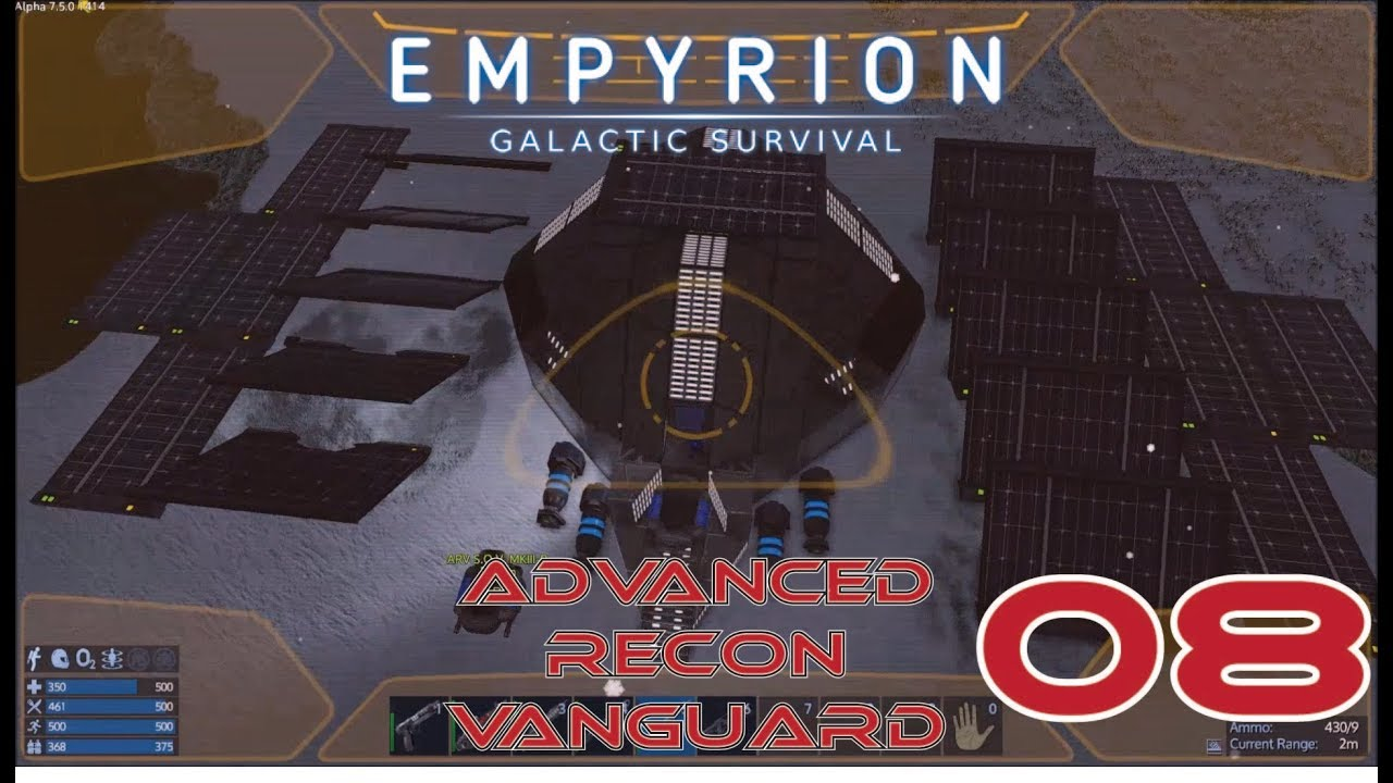 Harvest S O V  and SOLAR PANNELS!!!- [5X08] - Empyrion: Galactic Survival  Let's Play
