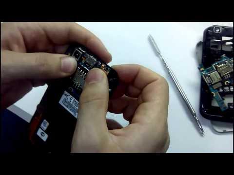 Разборка смартфона LG Optimus Sol E730