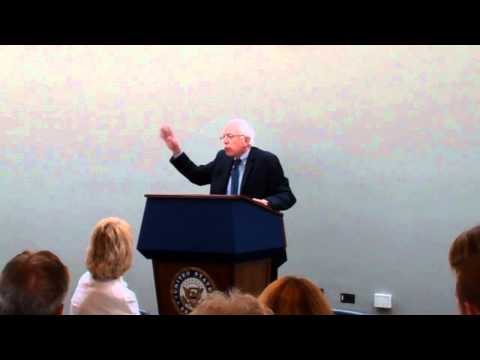 Sen. Sanders addresses National Association of Area Agencies on Aging