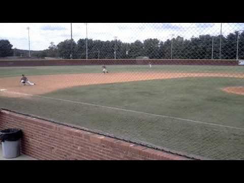 Tanner Revis Dirtbags Baseball Enka NC backhand