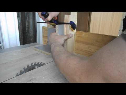 видео: Изготовление шипов на настольной циркулярке