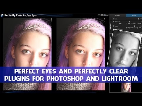 Perfect Eyes Photoshop and Lightroom Plug In