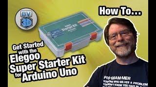 Get Started in Electronics #1 - Elegoo Arduino Uno Super Starter Kit