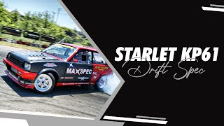 Nikos Antoniou - Toyota Starlet KP61 Drift Spec