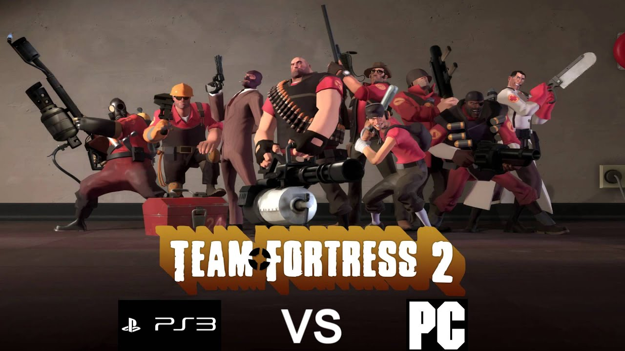 Team Fortress 2: PS3 vs PC - YouTube