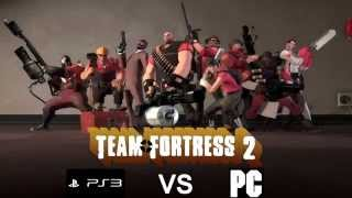 Team Fortress 2: PS3 vs PC