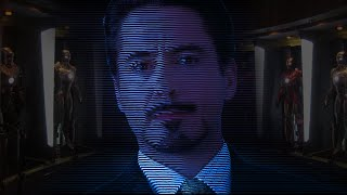 PROOF TONY STARK IS A.I. and NOT A HOLOGRAM in AVENGERS ENDGAME