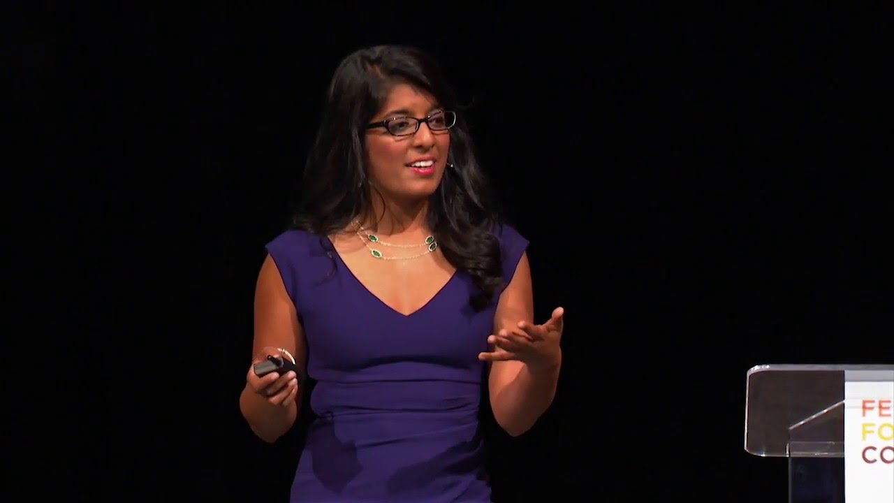 Gobble founder Ooshma Garg speaks at Female Founders Conference 2016