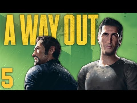 A Way Out - #5 - Kinder, Gentler, Home Invasion (Local Co-op Gameplay)