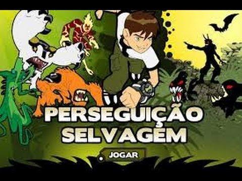 Jogos gratis de Ben 10 | Perseguiçao Selvagem | Cartoon Network