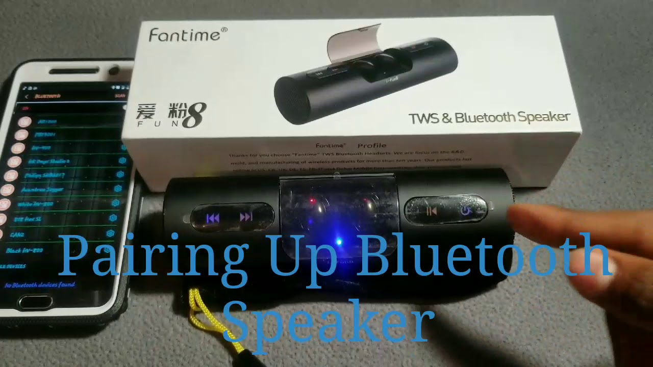 fun unique bluetooth speakers. Fantime Bluetooth Speaker with TWS Wireless Earbuds Unboxing  Review by Slick