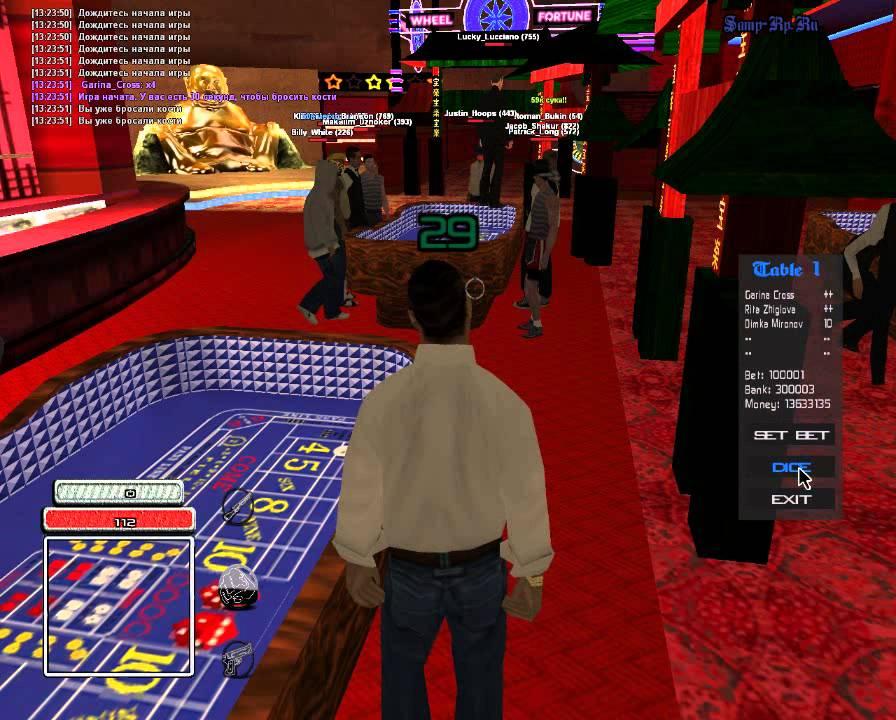 как сделать казино в самп
