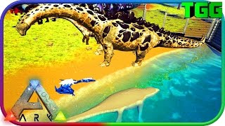 Ark Survival Evolved   Resource Crops, Water, Air, Earth Bosses & Tames, Alpha Giga #39 (Modded Ark)