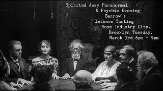 Sasha Graham's Spirited Away Paranormal & Psychic Evening
