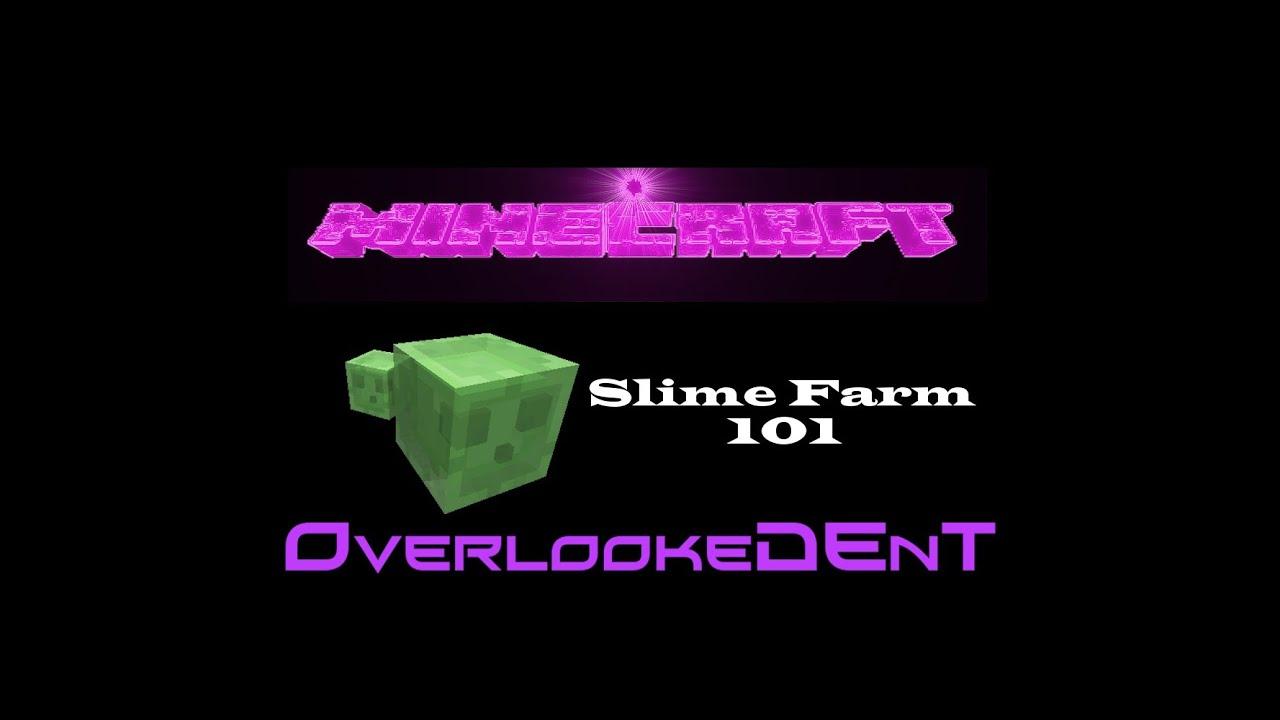 Slime farm 101 minecraft xbox 360ps3 tutorial youtube ccuart Choice Image