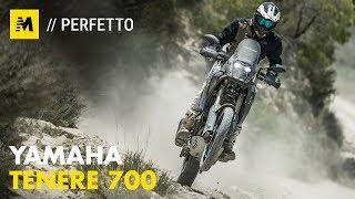 Yamaha Tenere 700: TEST ANTEPRIMA [English Sub.]